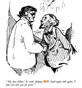 Basil Grant (left)